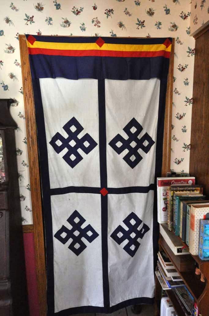 Tibetan Door Cloth