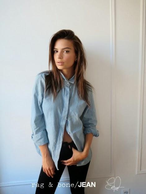 Emily Ratajkowski for Rag & Bone's DIY Project