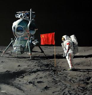 ¿Y si los soviéticos hubiesen sido los primeros en llegar a la Luna? Jour+J+%2301-+illustration-+2009