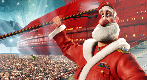 Cartoon pictures arthur christmas wallpapers