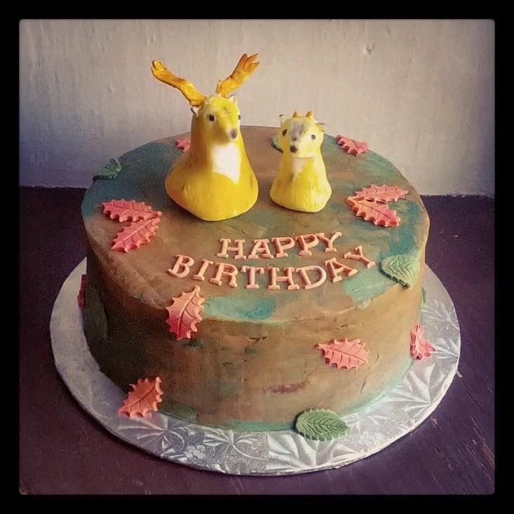 Second Generation Cake Design Deer Hunter Birthday Cake