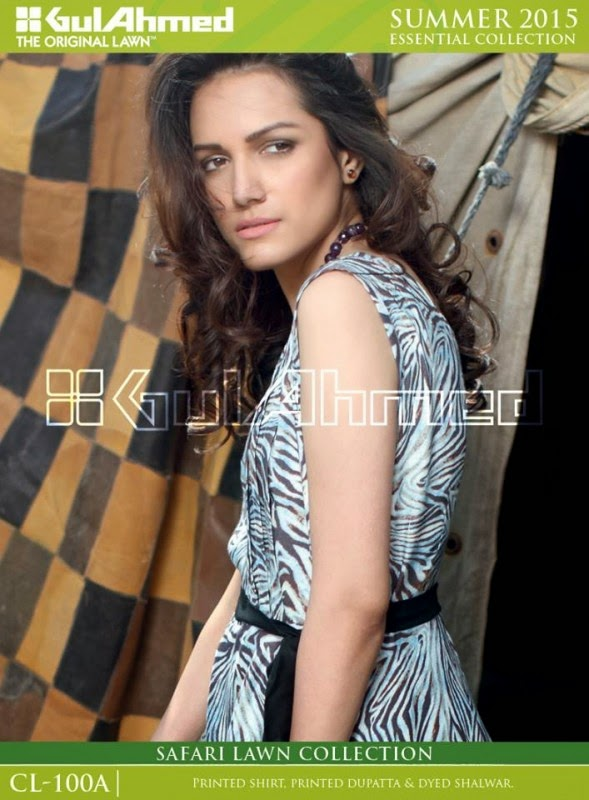 Safari Lawn Summer Collection by Gul Ahmed 2015 8