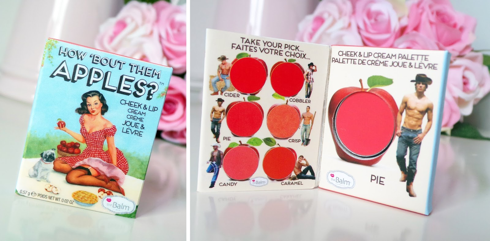 Birchbox theBalm How 'Bout Them Apples Palette beauty blog review
