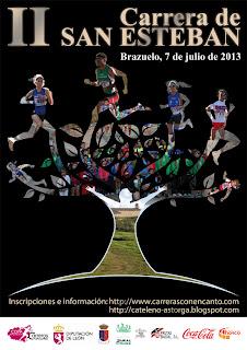 carrera san esteban de brazuelo www.mediamaratonleon.com