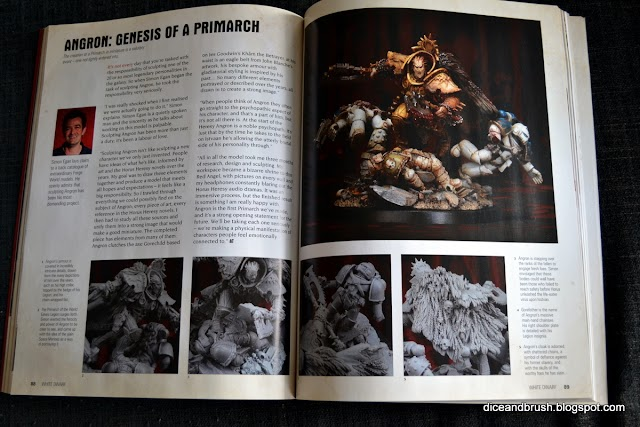 Horus Heresy Pics from Oct White Dwarf