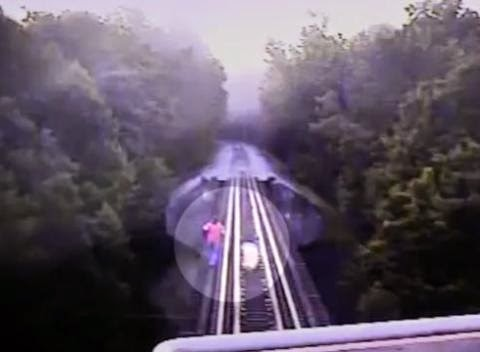 2 Women Survive Being Run Over By Train