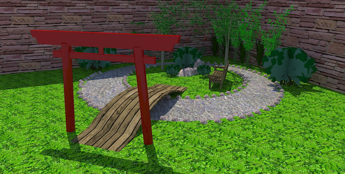 ideias de jardim japonesde estímulos sensoriais e poder desfrutar