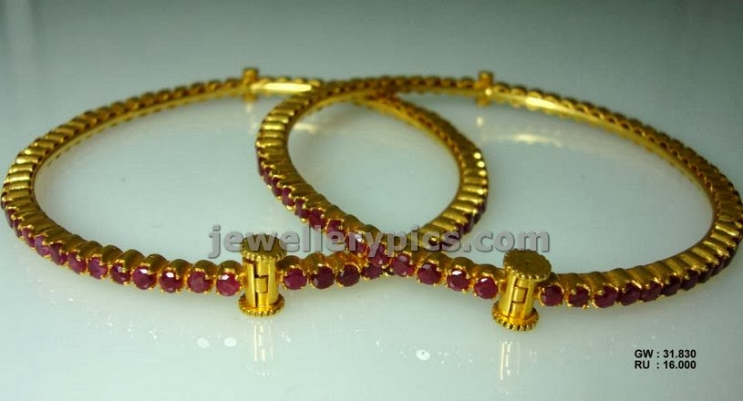 indian ruby bangles collection