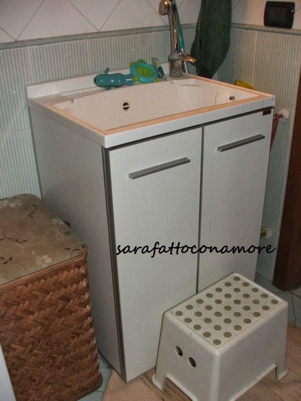 Sarafattoconamore la nostra casa a misura di bimbo bagno - Regalare uno specchio porta male ...