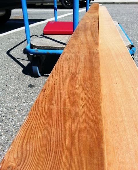 La Polisportiva Franconi: Di Cedro Rosso, legni duri, e una barca ...
