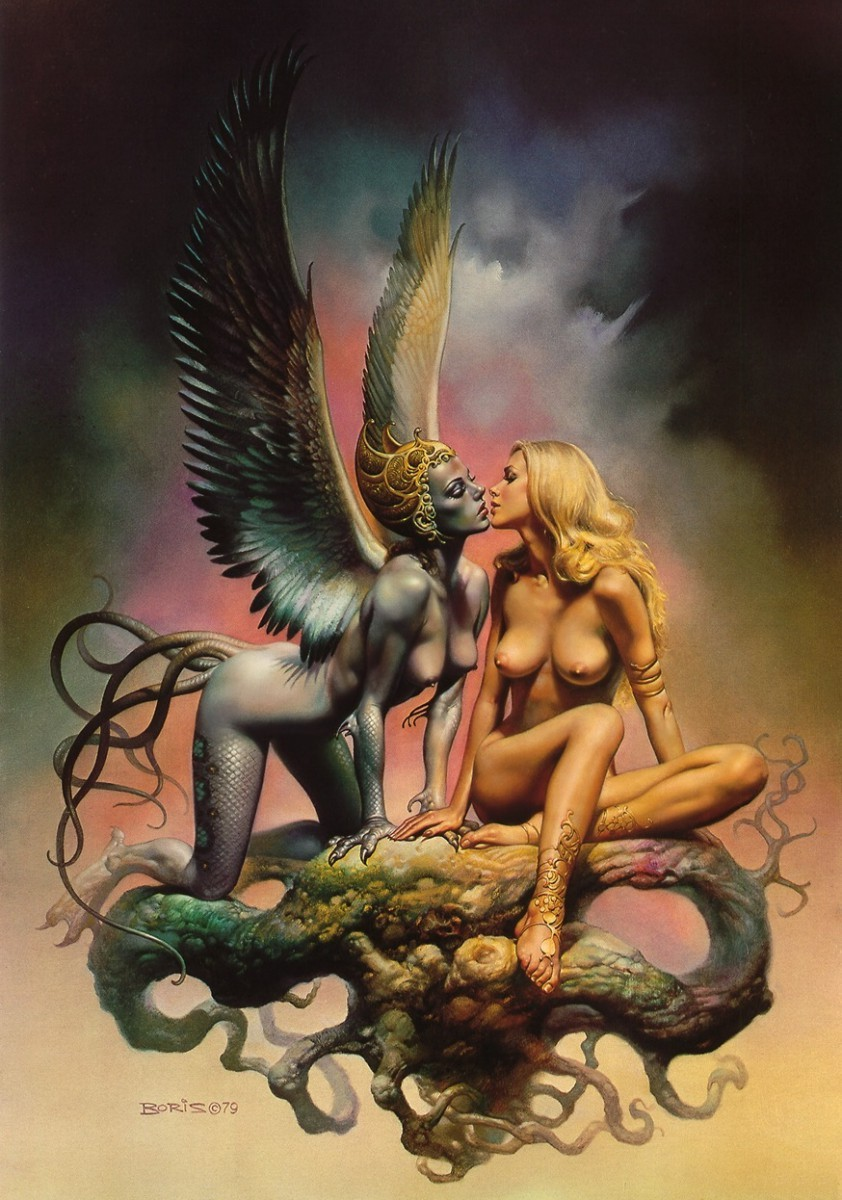 Erotic fantasy art boris porn photos