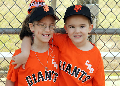 Brother And Sister_Tee Ball_Friends_So Sweet