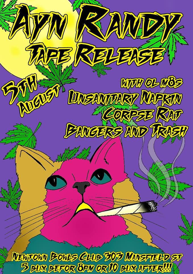 Ayn Randy Tape Release