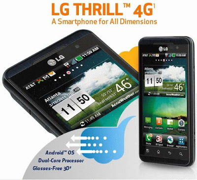 LG Thrill 4G official with AT&T, price & Specs Will Attract Buyers