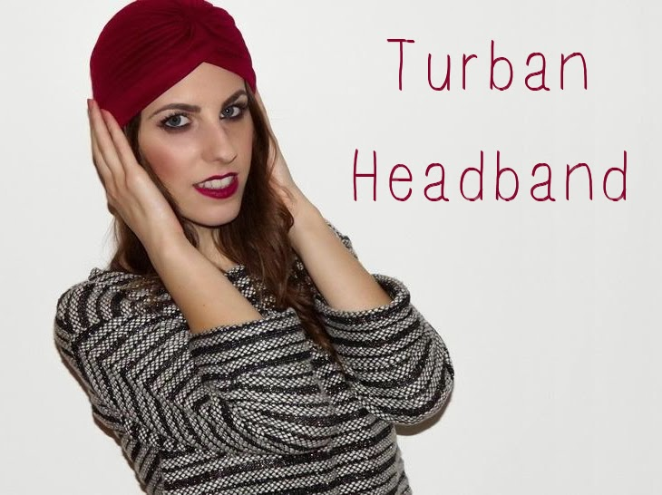 Turban Knot Headband thesparklingcinnamon winter asos how to tie a turban