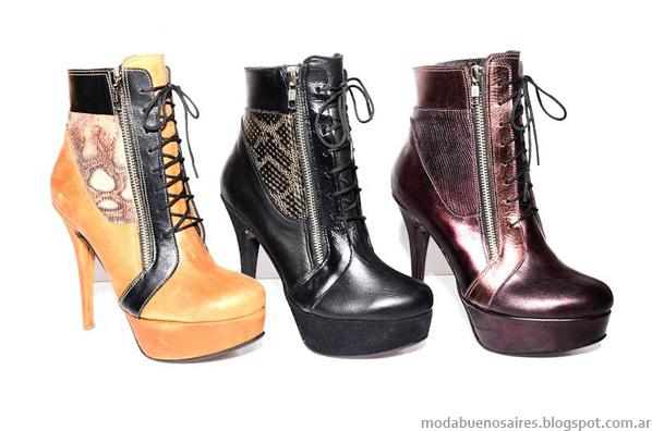 Zapatos Micheluzzi otoño invierno 2014 moda zapatos invierno 2014.