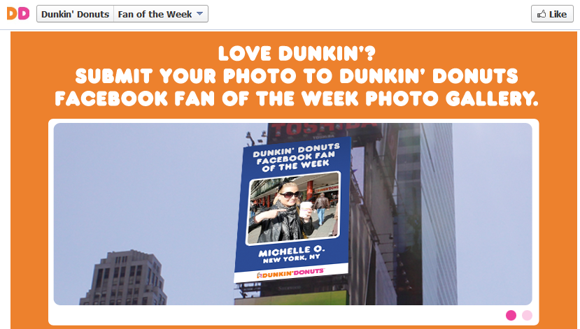 Featured fan of the week - Dunkin' Donut