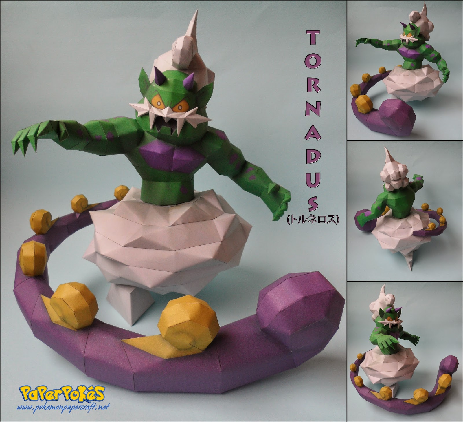 Pokemon Tornadus Papercraft