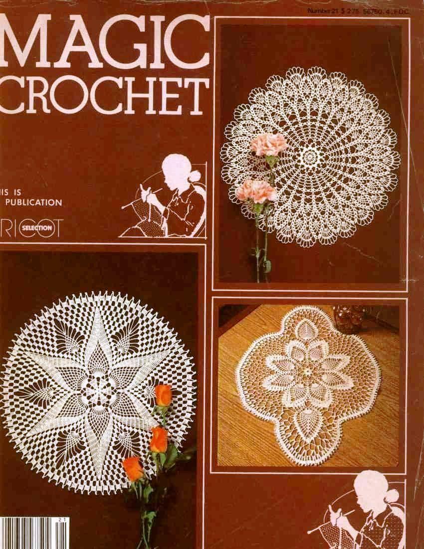 Magic Crochet No. 21 ~ Free Crochet Patterns