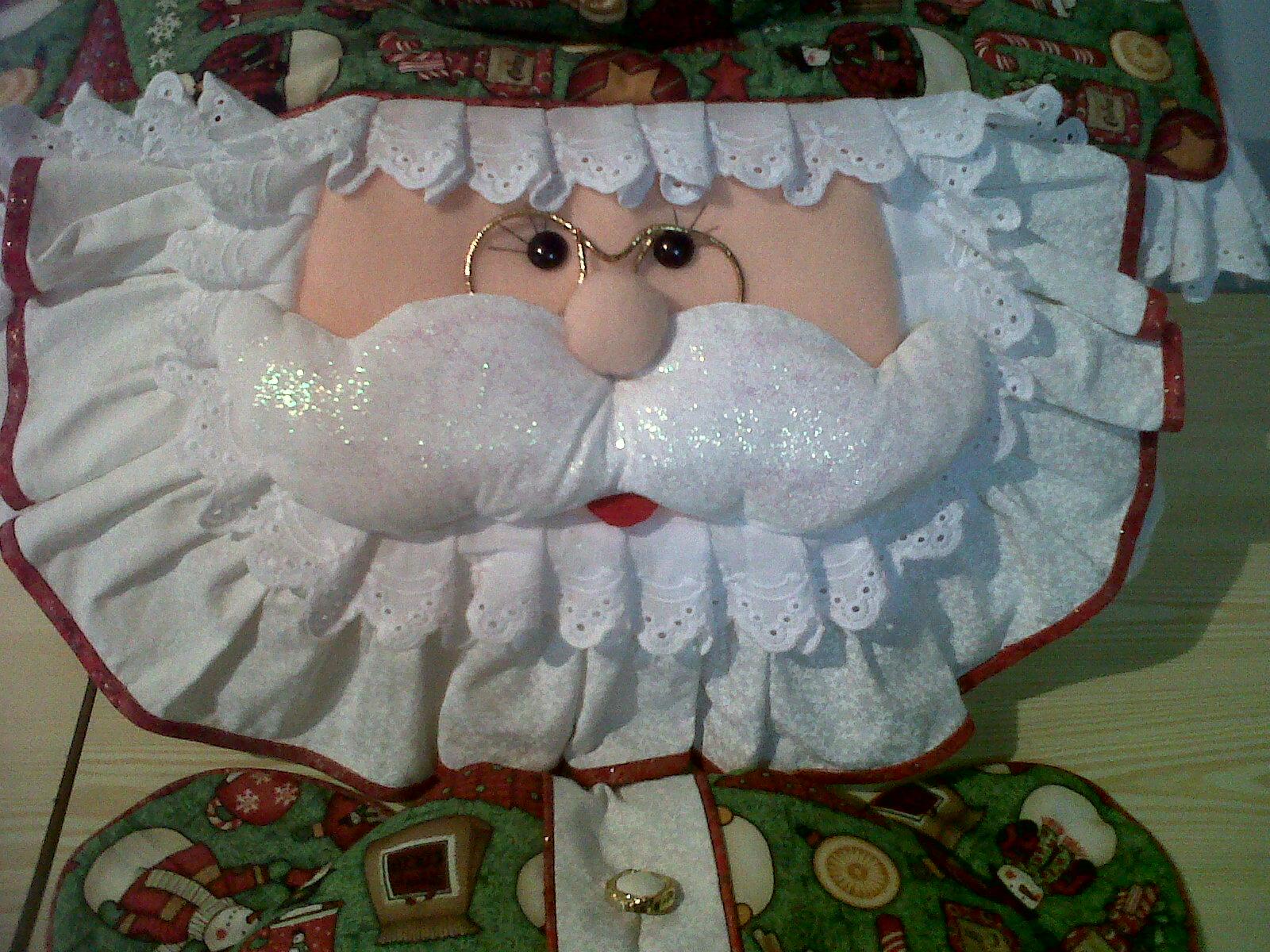 Figuras De Lenceria De Baño:Confecciones JOLMASI: JUEGO DE BAÑO NAVIDEÑO