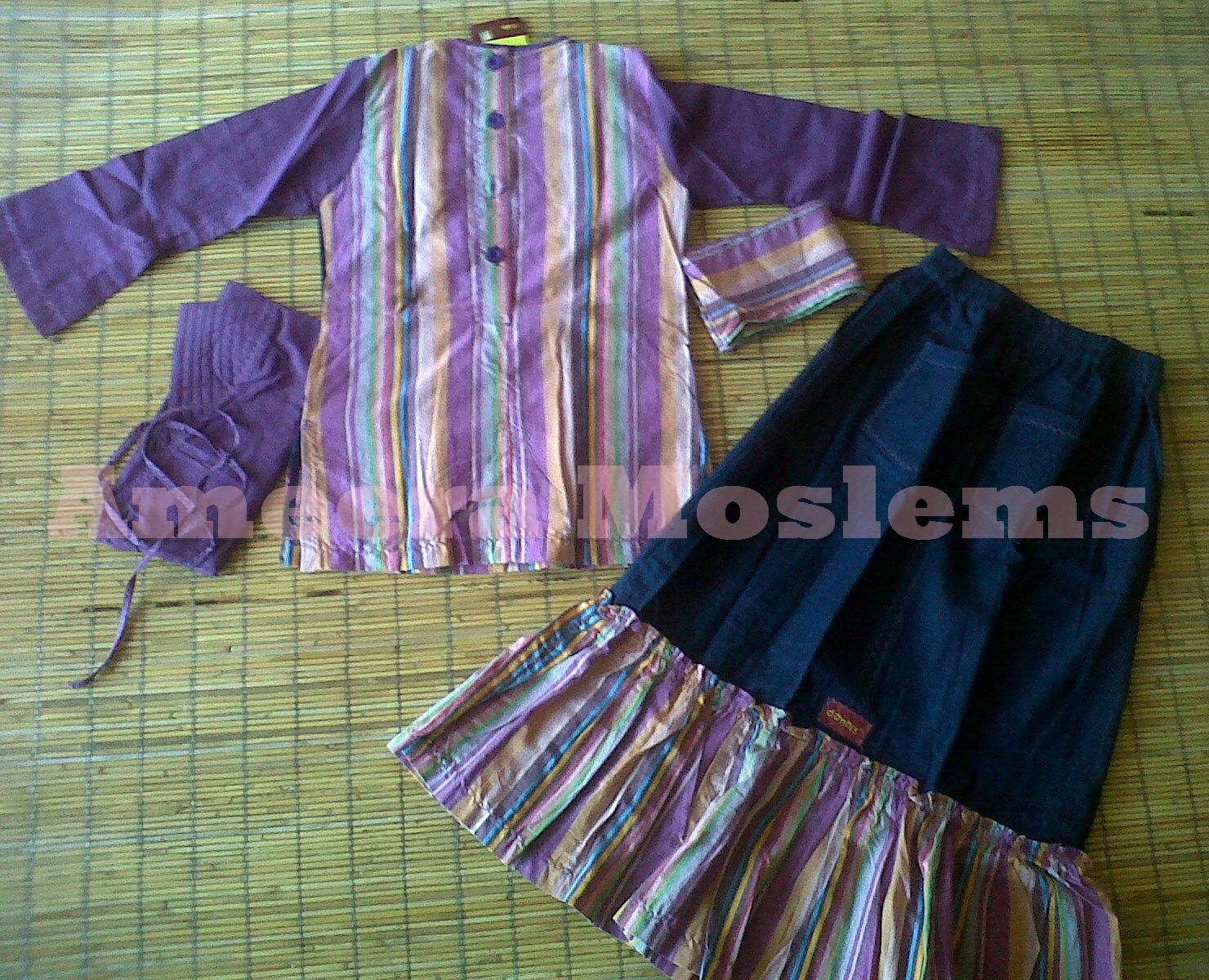 Baju Muslim Anak By Dannis Size 7 Ameera Dannis Anak