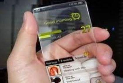 وداعا لبطاريات المحمول - موبايل شفاف - transparent mobile