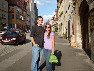 Me and my wife in Germany