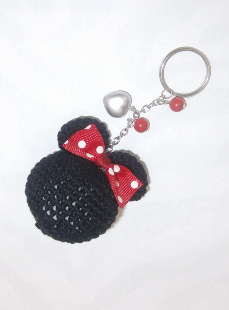 Encantador Minnie Libre Patrón De Crochet Ratón Colección de ...