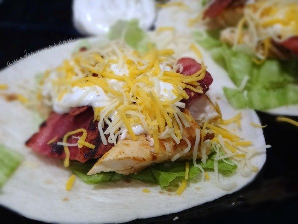 Chicken Club Tacos Recipe — a Modern Mrs.