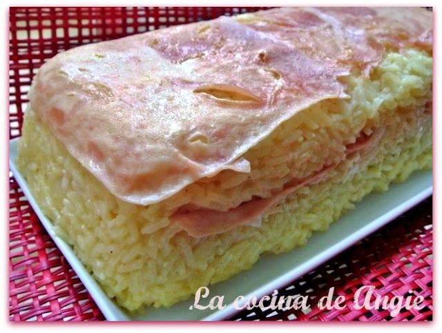 Pastel De Arroz Y Jamón Al Curry