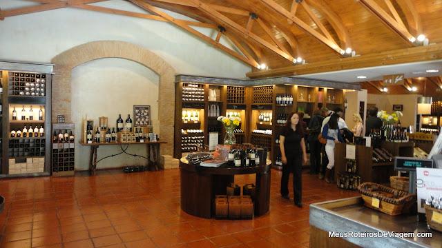 Loja de vinhos - Concha y Toro