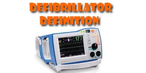 Defibrillator Definition