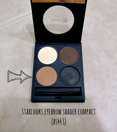 starlooks eyebrow shader compact