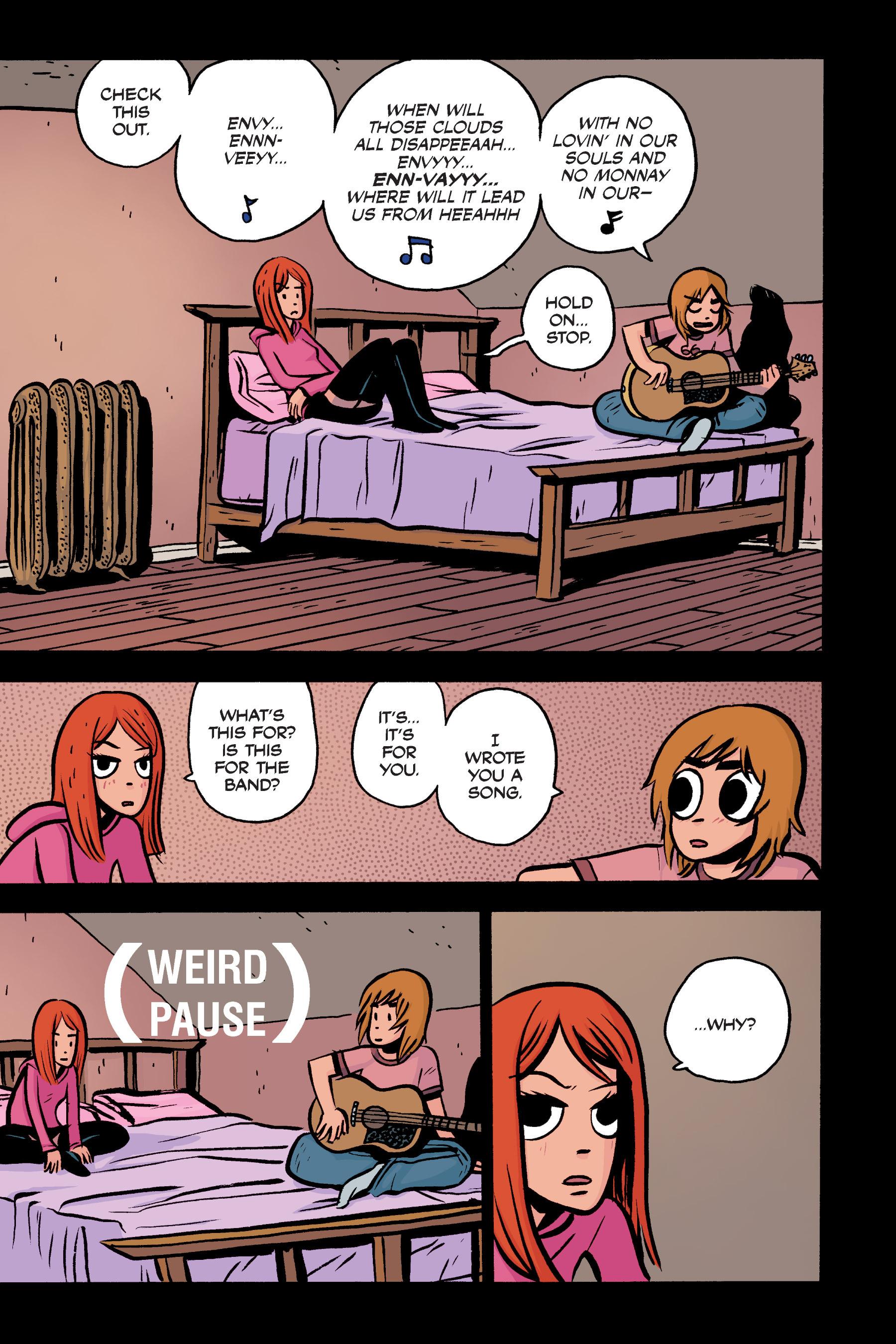Read online Scott Pilgrim comic -  Issue #3 - 132