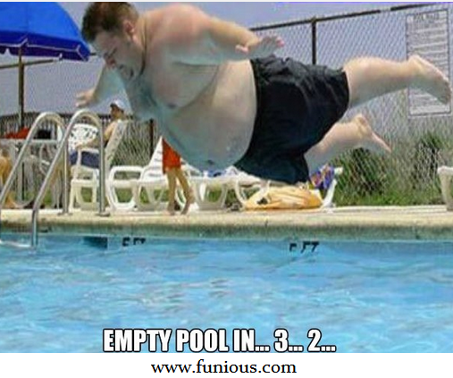 Empty Pool In  3...2...