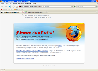Navegar mas rápido con Firefox para conexiones ADSL