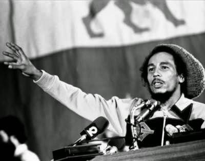 Singer Bob Marley