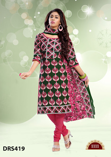 Latest Cotton Printed Dress Material – Wholesale