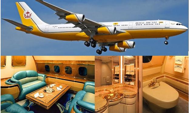 8 Gambar Dalaman Kapal Terbang MEWAH Milik Sultan Brunei Yang Anda Takkan TERFIKIR
