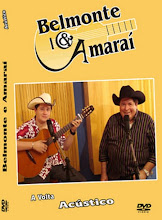 DVD Belmonte e Amaraí - A Volta Acústico