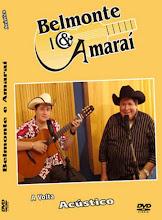 DVD Belmonte e Amaraí - A Volta Acústico