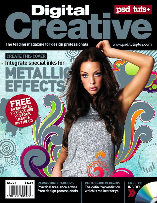 10 Tutorials, How To Make a Professional Magazine Cover   For Design ...