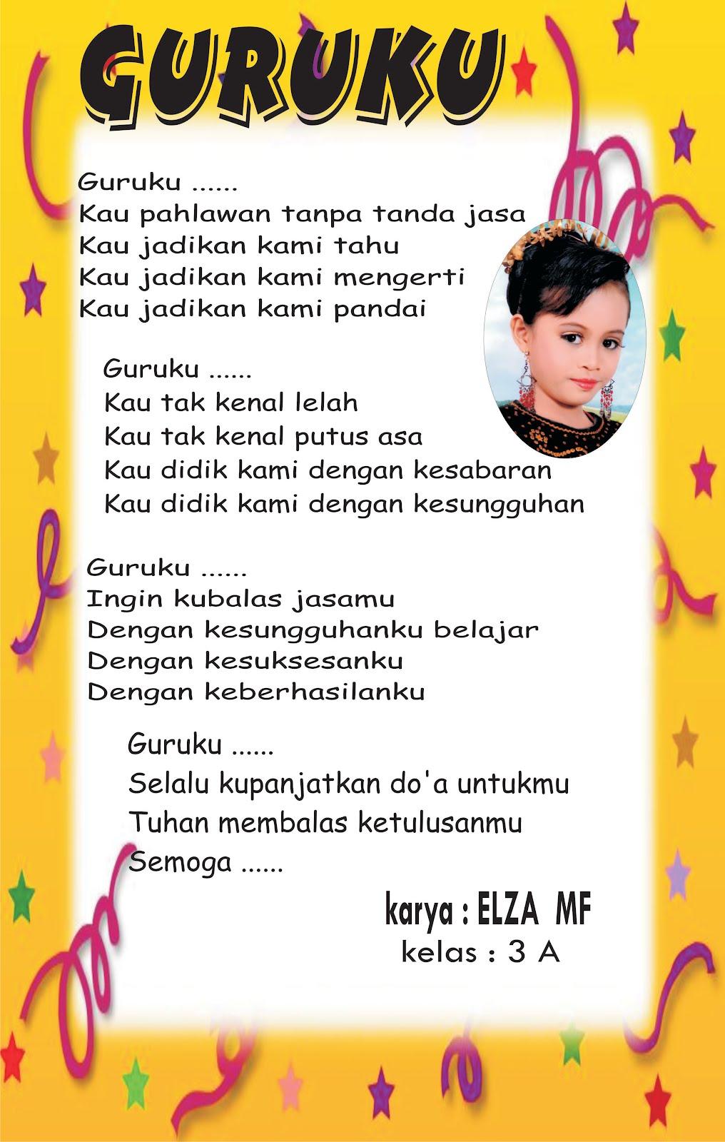 Puisi Guru Ibu Dan Bapak