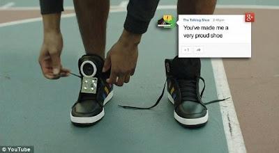 Google Ciptakan Sepatu yang bisa Bicara