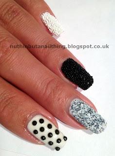 caviar manicure nails