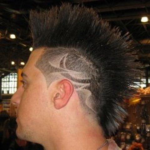 tattoo design hair art