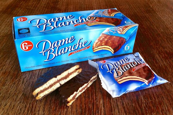 Dame Blanche Chocolate Cream Biscuits