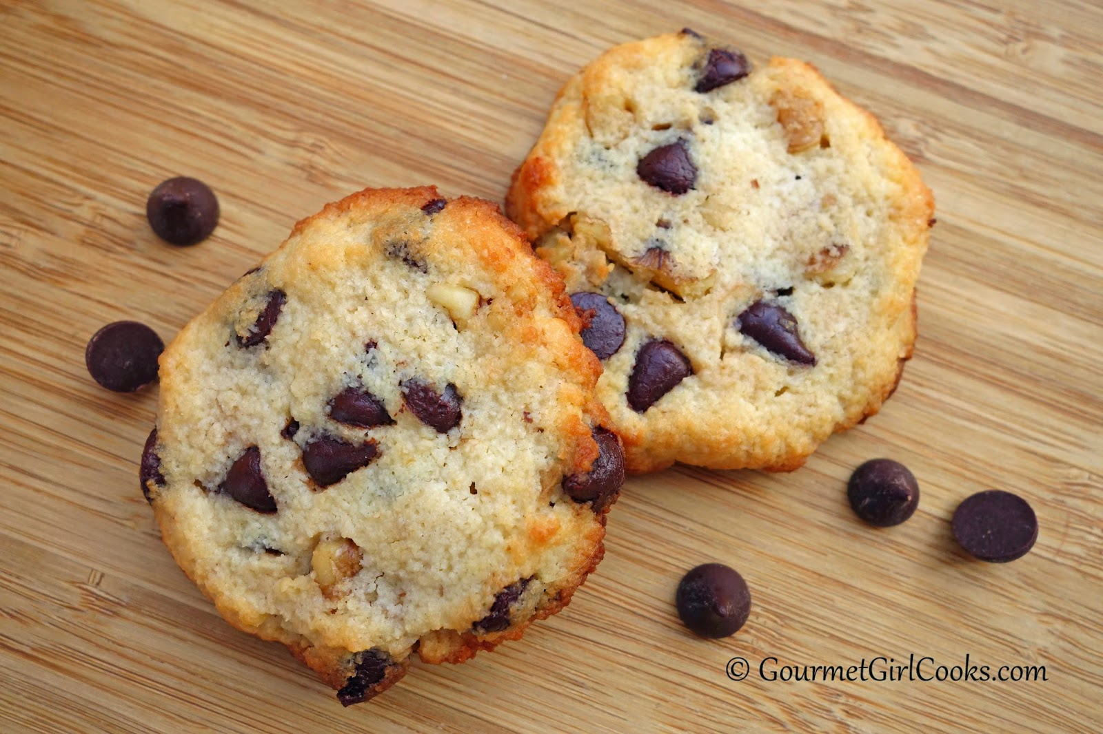 Gourmet Girl Cooks: Crispy Style Chocolate Chip Cookies - Low Carb ...