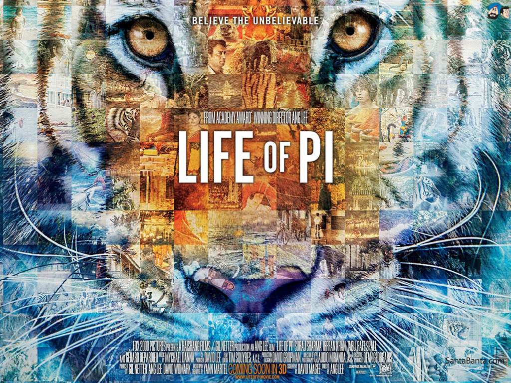 Wine ink sweat and fears the life of pi for Life of pi tiger name