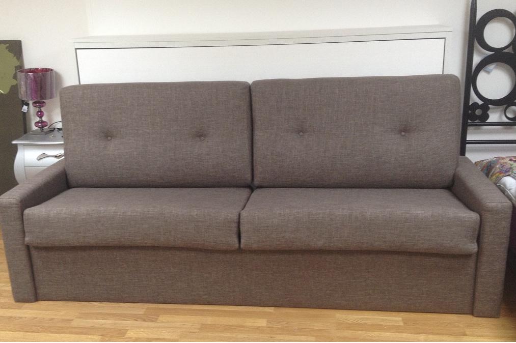 Cama abatible con sofa medida 80 90 105 135 y 150cms - Camas abatibles horizontales madrid ...